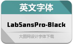 LabSansPro-Black(英文字体)