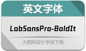 LabSansPro-BoldItalic(英文字体)