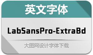 LabSansPro-ExtraBold(英文字体)