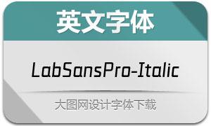LabSansPro-Italic(英文字体)