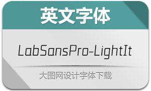 LabSansPro-LightItalic(英文字体)