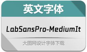 LabSansPro-MediumItalic(字体)