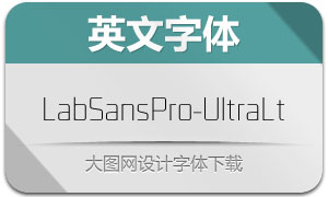 LabSansPro-UltraLight(字体)