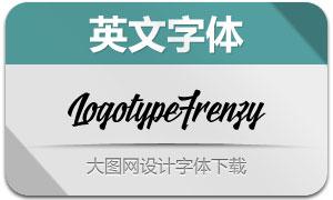 LogotypeFrenzy(英文字体)