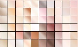 甜美的粉紅皮膚效果PS漸變