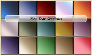 新年柔美风格PS渐变