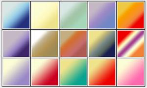 24款绚丽彩色的PS渐变