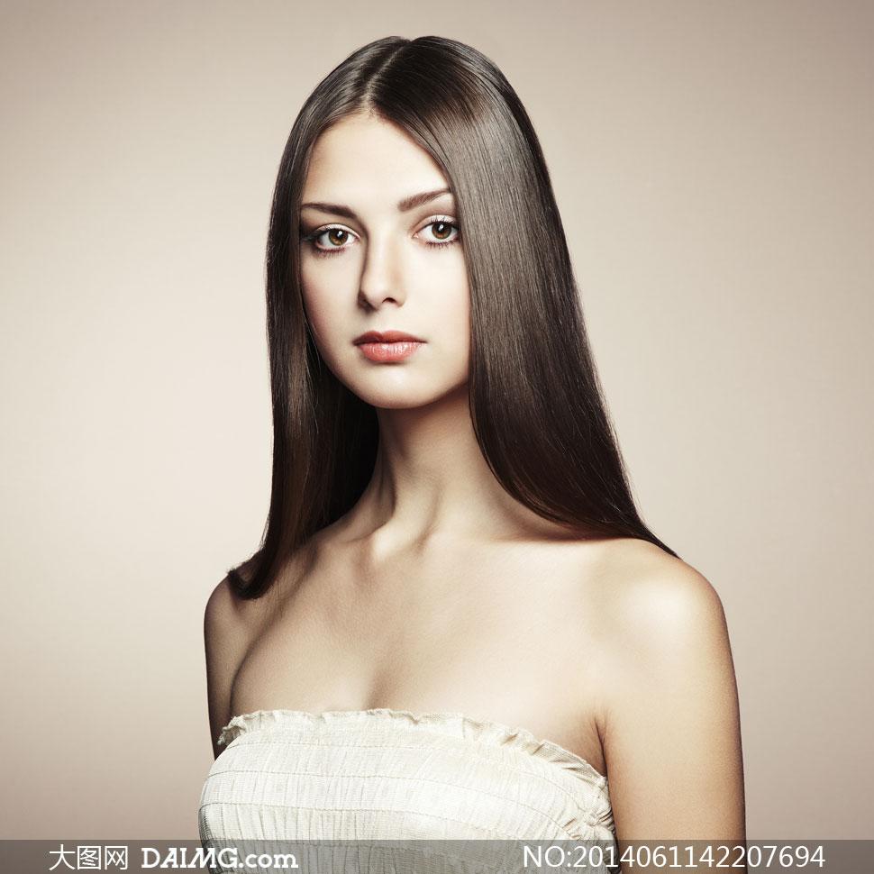 关键词:美女v美女大图图片素材女人美女写真模特人物黑发长发女性秀发国非高清图片