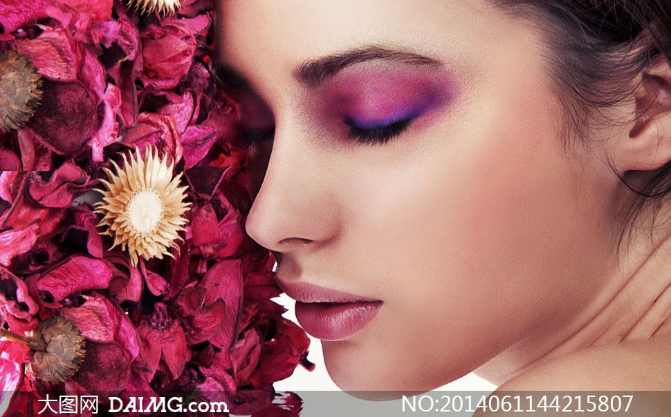 花瓣的干枯图片与红色v花瓣高清美女蕾丝啊美女透内衣图片