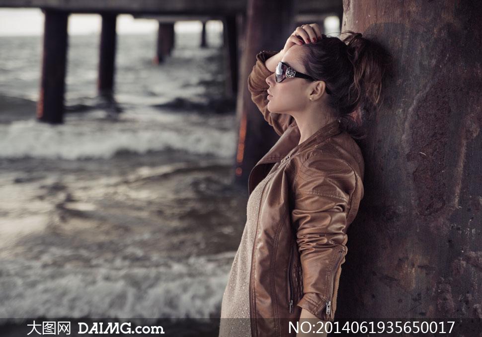 咖啡色图片装美女模特v图片图片工厂高清情趣用品夹克图片