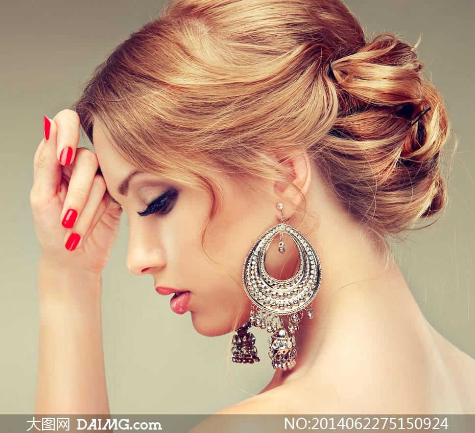 高清摄影大图图片素材人物美女女性女人模特