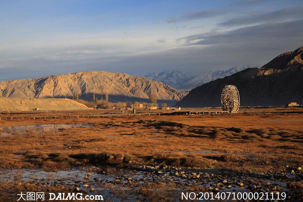 新疆塔什库尔干风景名胜摄影图片