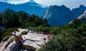 美丽华山旅游风光摄影图片