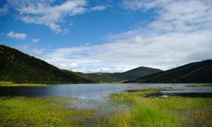 普达措森林公园美丽风光摄影图片