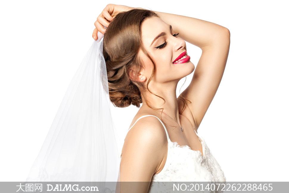 发型v发型大图图片素材盘发新娘高清女性写真美女长发短发动漫婚纱礼服闺蜜人物女人盘发两人头像图片