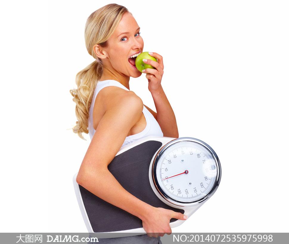 关键词: 高清摄影大图图片素材人物体育运动美女女人女性饮食减肥