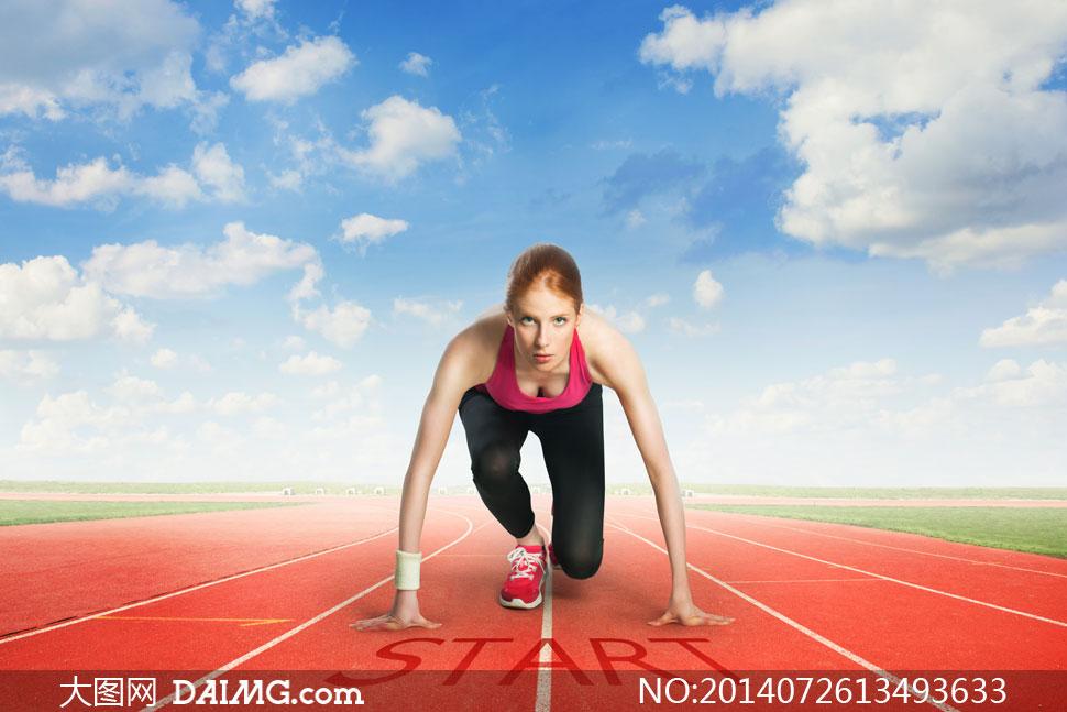 关键词: 高清摄影大图图片素材人物体育运动美女女人女性健身训练图片