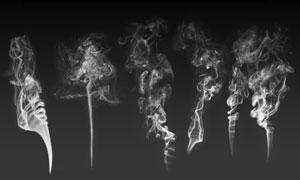 超酷的丝状艺术烟雾笔刷