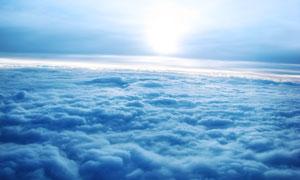 云层和云海美丽风光摄影图片