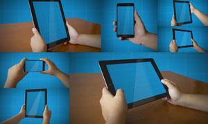 手机与平板等手持设备内容贴图模板