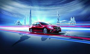 英菲尼迪Q50汽车设计图片素材