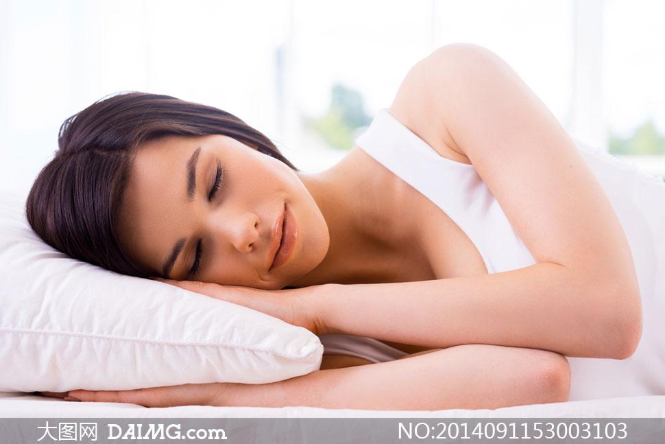 躺着睡觉的女生头像