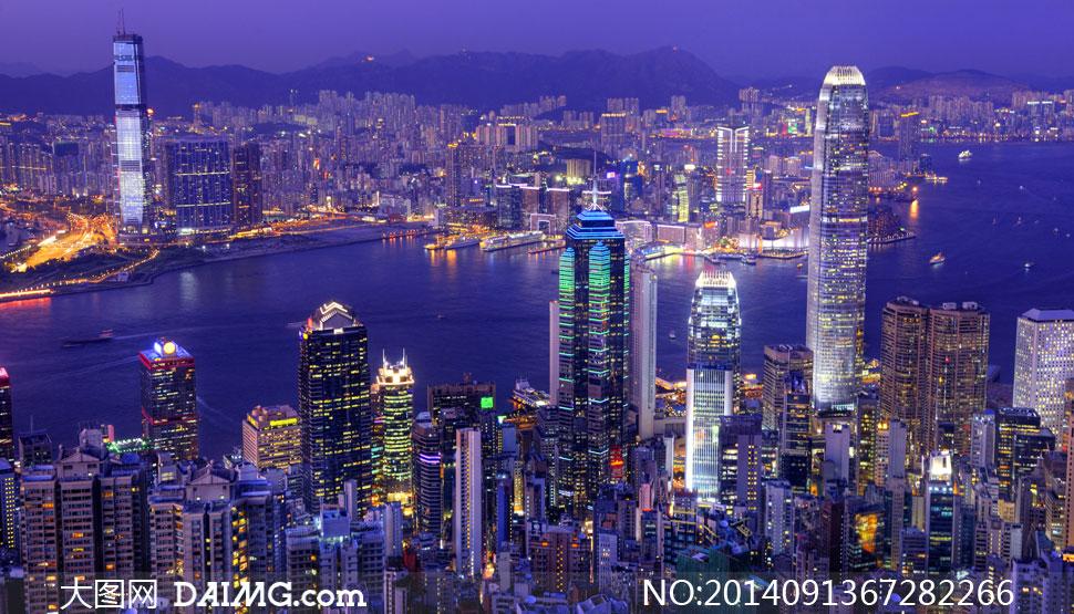 香港地标建筑简笔画