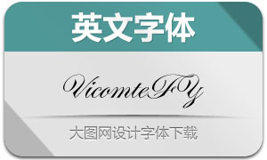 VicomteFY(手写英文字体)