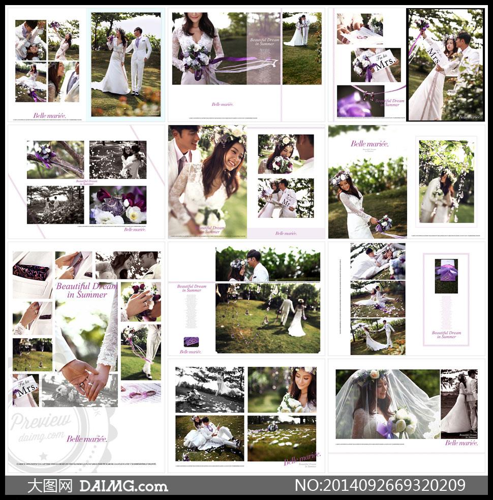 摄影版式设计版面设计照片模板相片模板照片版式相片