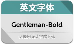 Gentleman-Bold(英文字体)