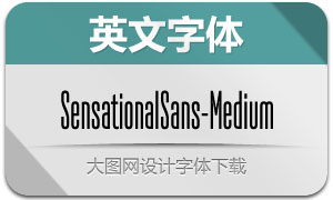SensationalSans-Medium(字体)