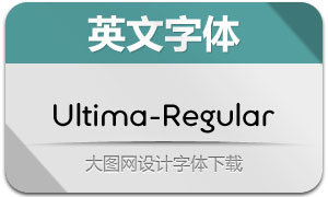 Ultima-Regular(英文字体)