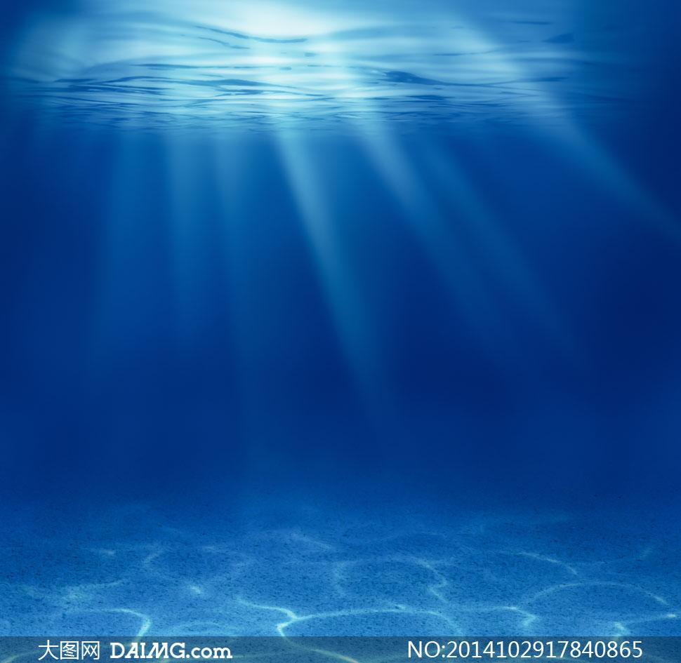 大图首页 高清图片 自然风景 > 素材信息          荡漾水面下的光线