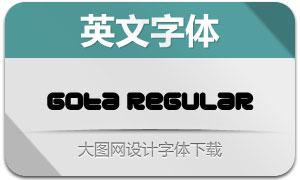 Gota-Regular(英文字体)