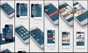 手机操作系统全套界面设计PSD素材