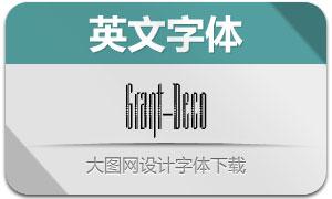 Grant-Deco(英文字体)