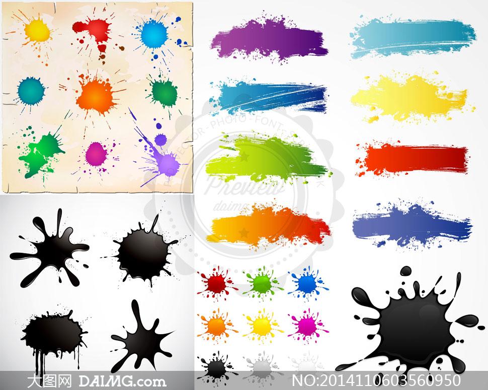 颜料手绘板画人物