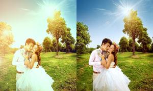 人像照片添加柔光效果PSD调色图层