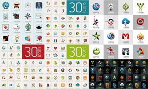 超多款标志与图标创意设计矢量素材
