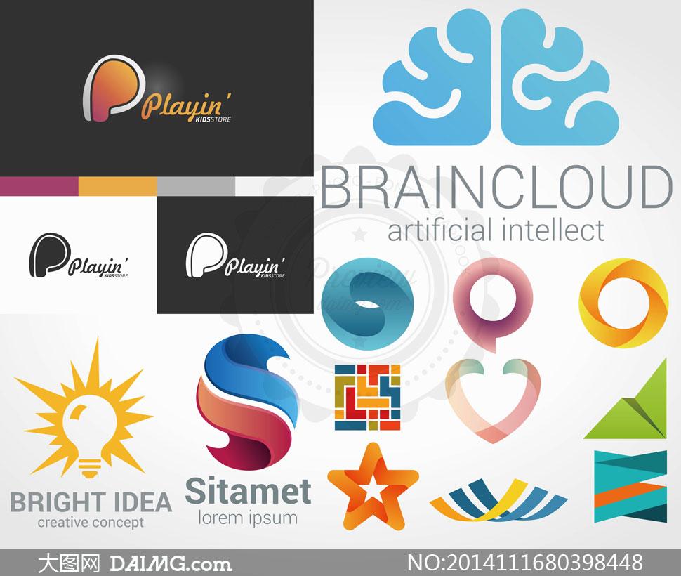 关键词: 矢量素材矢量图设计素材标志logo创意设计抽象图形圆形圆环