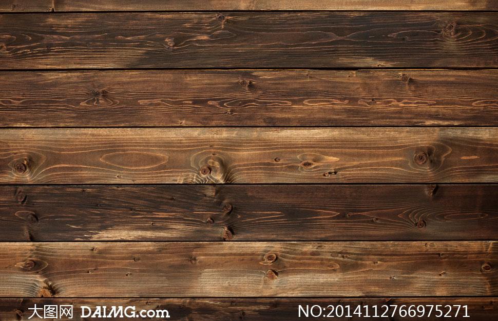 棕色木板纹理材质背景摄影高清图片