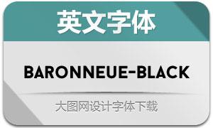 BaronNeue-Black(英文字体)