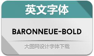 BaronNeue-Bold(英文字体)