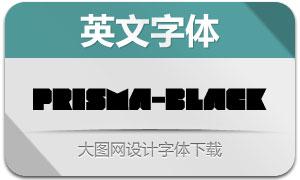 Prisma-Black(创意设计英文字体)