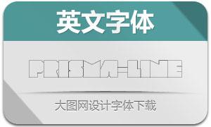 Prisma-Line(创意设计英文字体)