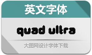 Quad-Ultra(创意英文字体)