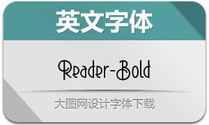 Reader-Bold(英文字体)