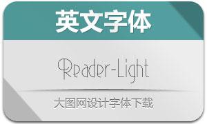 Reader-Light(英文字体)