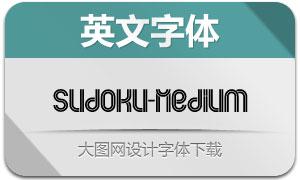Sudoku-Medium(英文字体)