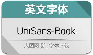 UniSans-Book(英文字体)